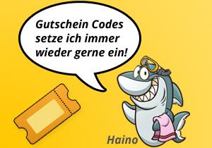 Auch Haino nutzt gerne Gutschein Codes für Flüge.