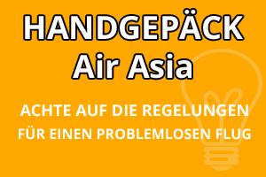 Handgepäck Regelungen Air Asia