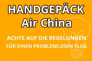 Handgepäck Regeln Air China