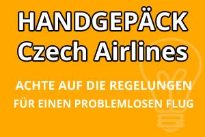 Handgepäck Regelungen Czech Airlines