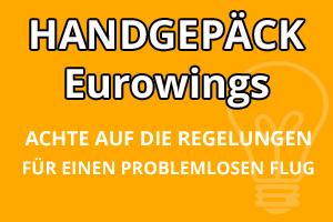 Handgepäck Regelungen Eurowings