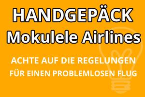 Handgepäck Bestimmungen Mokulele Airlines