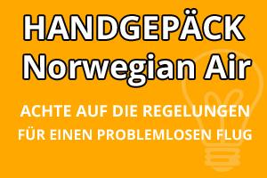 Handgepäck Bestimmungen Norwegian Air