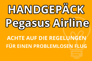 Handgepäck Regelungen Pegasus Airline