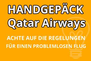 Handgepäck Regelungen Qatar Airways