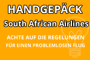Handgepäck Regelungen South African Airlines