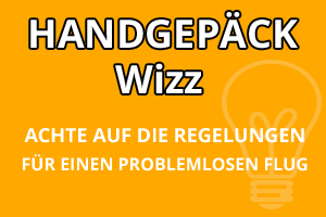Handgepäck Vorschriften Wizz