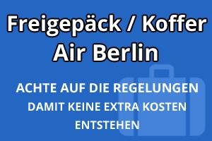 Freigepäck Koffer Air Berlin