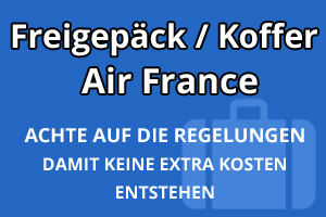 Freigepäck Koffer Air France