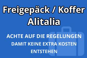 Freigepäck Koffer Alitalia