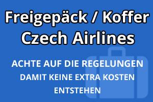 Freigepäck Koffer Czech Airlines