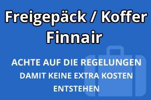Freigepäck Koffer Finnair