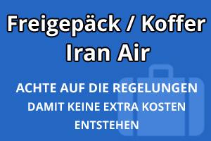 Freigepäck Koffer Iran Air