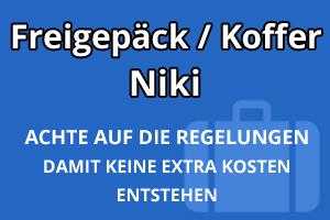 Freigepäck Koffer Niki