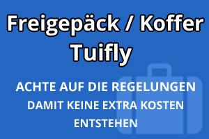 Freigepäck Koffer Tuifly