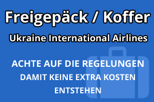 Freigepäck Koffer Ukraine International Airlines