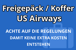 Freigepäck Koffer US Airways