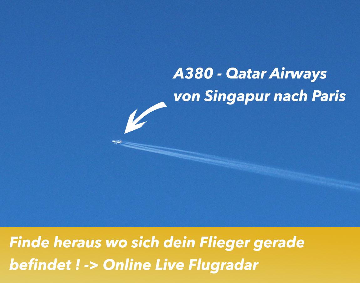 Flugradar Live - Was fliegt da oben eigentlich?