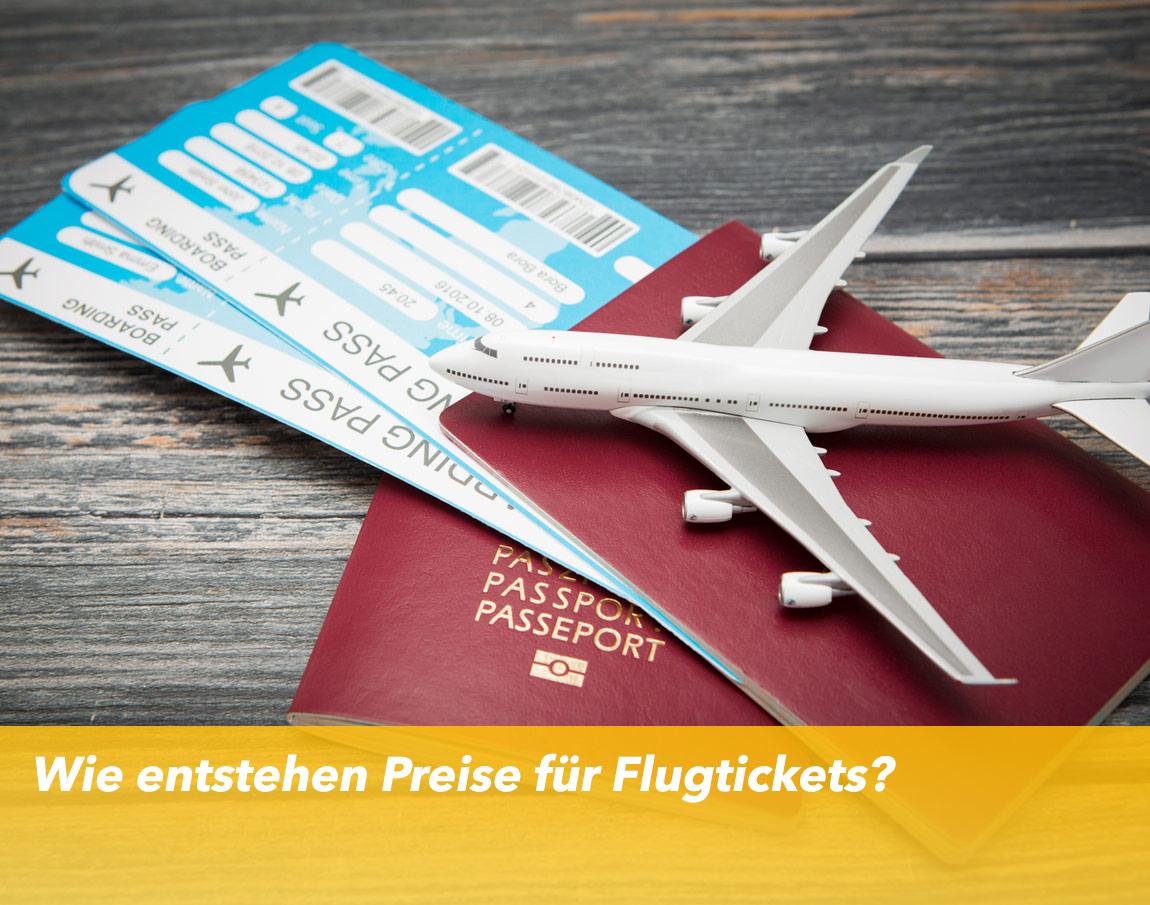 Preise für Flugtickets