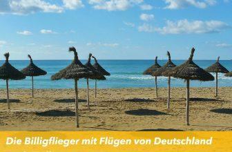 Die Billigflieger mit Flügen von Deutschland nach Mallorca