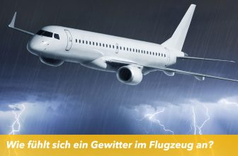 Wie fühlt sich ein Gewitter im Flugzeug an?