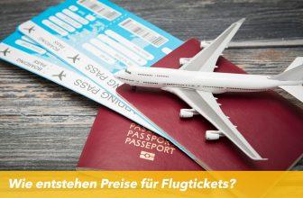 Wie entstehen Preise für Flugtickets?