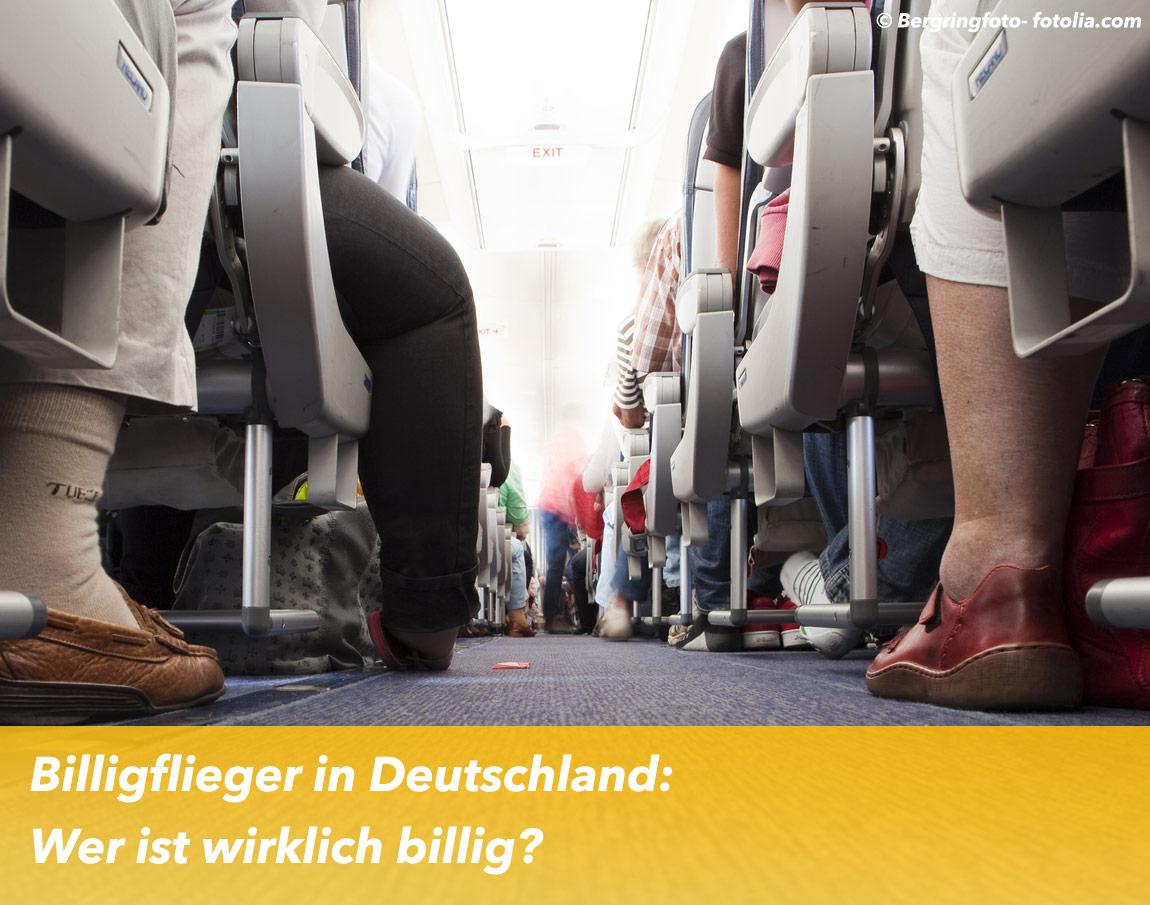 Billigflieger in Deutschland: Wer ist wirklich billig?