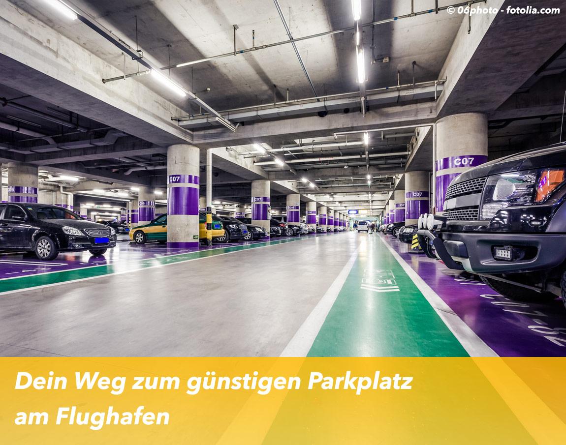 Dein Weg zum günstigen Parkplatz am Flughafen