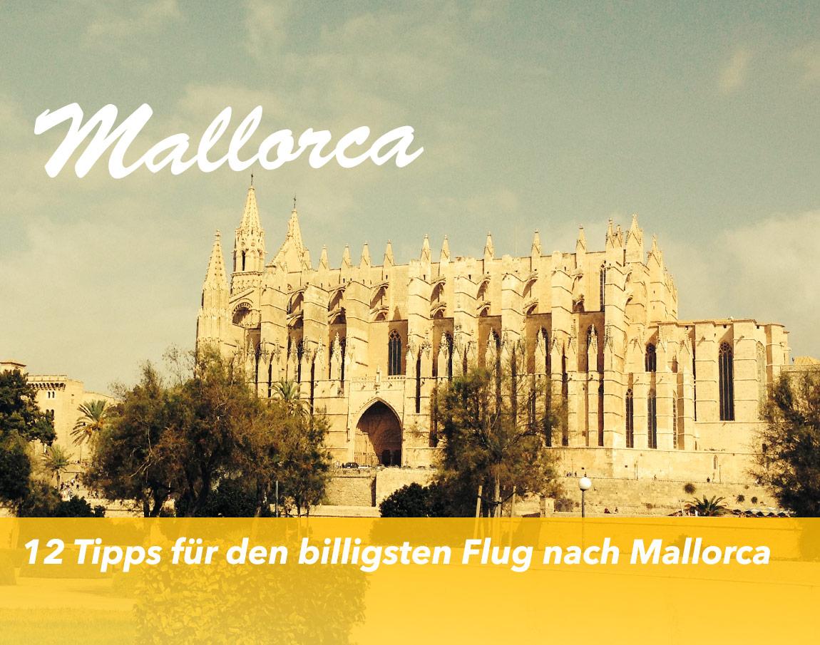 12 Tipps für den billigsten Flug nach Mallorca