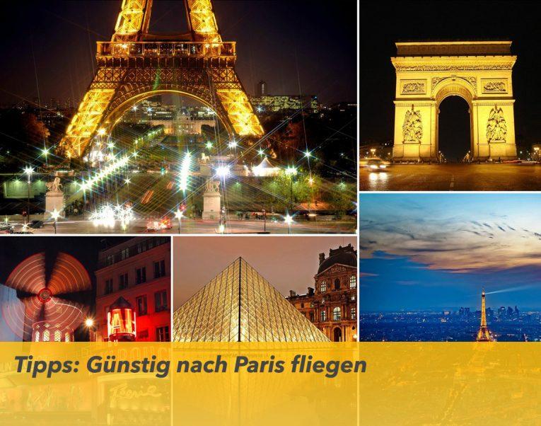 Billige Flüge nach Paris