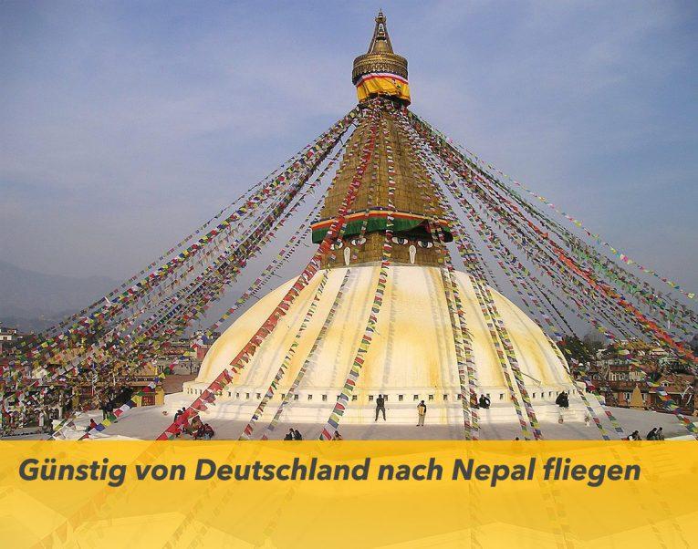 Günstig von Deutschland nach Nepal fliegen